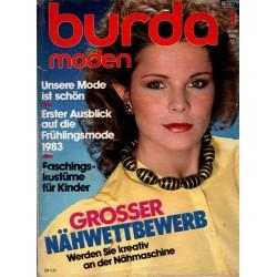 burda Moden 1/Januar 1983 - Frühlingsmode