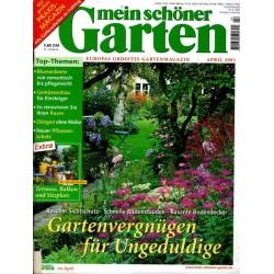 Mein schöner Garten / April 2001 - Gartenvergnügen