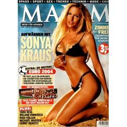 MAXIM Juni 2004 - Sonya Kraus