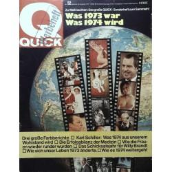 Quick Heft Nr.52 / 20 Dezember 1973 - Was war und wird 1974