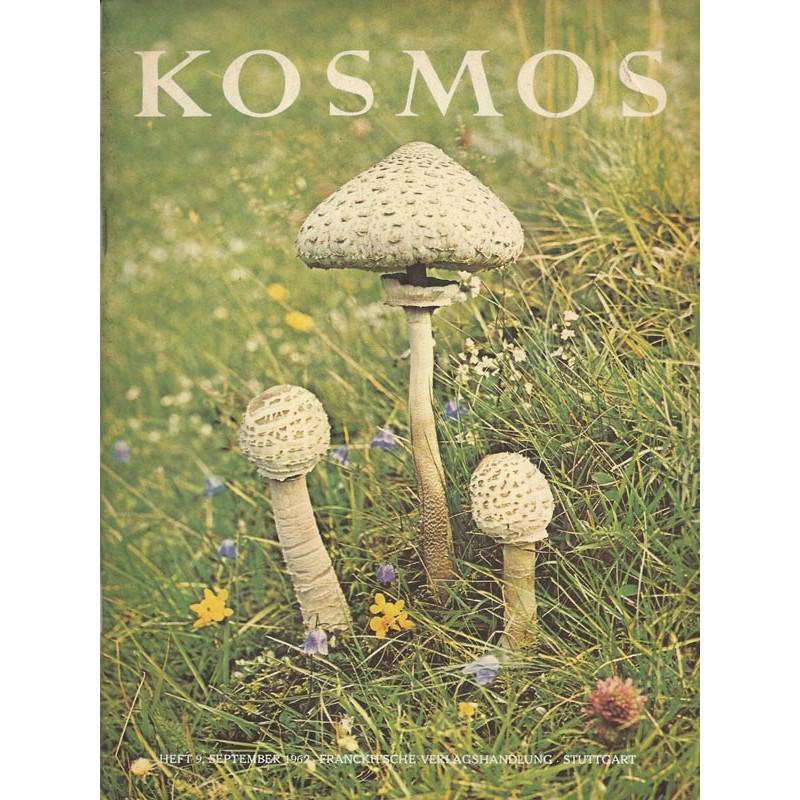 KOSMOS Heft 9 September 1962 - Der Riesenschirmling