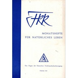 FKK Nr.10 / Oktober 1961 - Freikörper-Kultur
