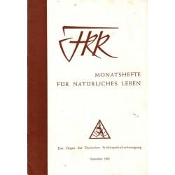 FKK Nr.9 / September 1962 - Freiheit und Frieden