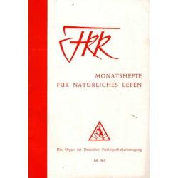 FKK Nr.7 / Juli 1961 - Unser Wunsch für alle...