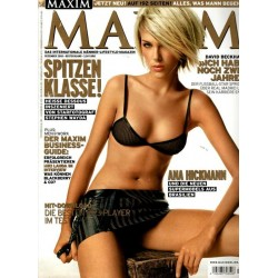 MAXIM Dezember 2005 - Ana Hickmann