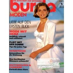 burda Moden 5/Mai 1992 - Liebe auf den ersten Blick