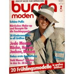 burda Moden 2/Februar 1985 - 20 Frühlingsmodelle