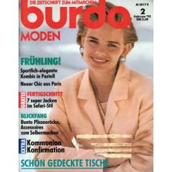 burda Moden 2/Februar 1992 - Kombis in Pastell