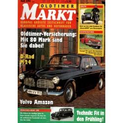 Oldtimer Markt Heft 4/April 1994 - Volvo Amazon
