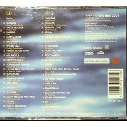 Bravo The Hits 2001 / 2 CDs - Enya, No Angels, Wheatus... Rückseite