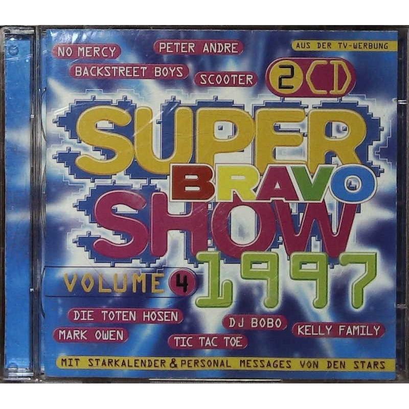 Bravo Super Show 1997 Vol.4 / 2 CDs / DJ Bobo, Peter Andre, 3T...