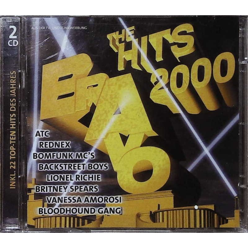 Bravo The Hits 2000 / 2 CDs - ATC, Rednex, Lionel Richie...