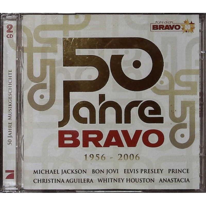 50 Jahre Bravo 1956 - 2006 / 2 CDs - Bon Jovi, Elvis Presley...