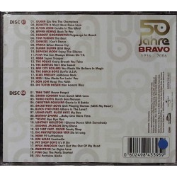 50 Jahre Bravo 1956 - 2006 / 2 CDs - Bon Jovi, Elvis Presley... Rückseite