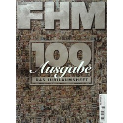 FHM Februar 2009 - 100 Ausgabe, das Jubiläumsheft