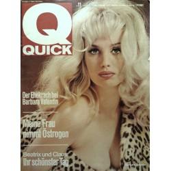 Quick Heft Nr.11 / 13 März 1966 - Barbara Valentin