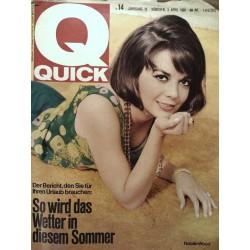 Quick Heft Nr.14 / 3 April 1966 - Natalie Wood
