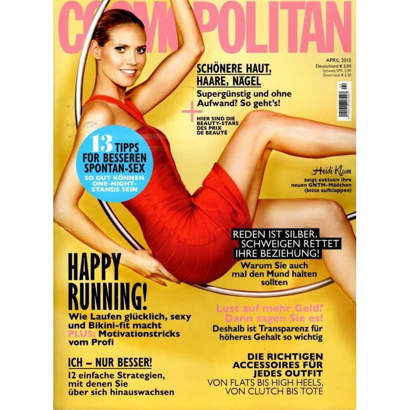 Cosmopolitan 4/April 2015 - Heidi Klum