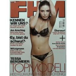 FHM April 2009 - Tessa Bergmeiser