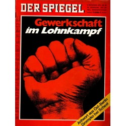 Der Spiegel Nr.45 / 2 November 1970 - Gewerschaft...