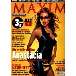 Maxim Juni 2001 - Anastacia