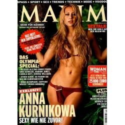 Maxim September 2004 - Anna Kurnikowa
