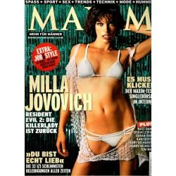 Maxim November 2004 - Milla Jovovich