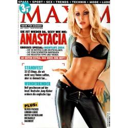Maxim Mai 2004 - Anastacia