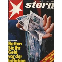 stern Heft Nr.30 / 17 Juli 1980 - Retten Sie ihr Geld vor der Inflation