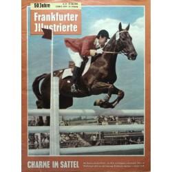 Frankfurter Illustrierte Nr.21 / 27 Mai 1962 - Charme im Sattel