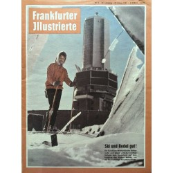 Frankfurter Illustrierte Nr.4 / 21 Januar 1961 - Ski & Rodel gut!