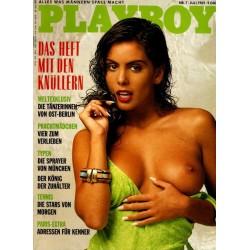 Playboy Nr.7 / Juli 1989 - Tracey Elvik