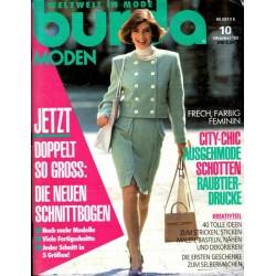 burda Moden 10/Oktober 1992 - City Chic