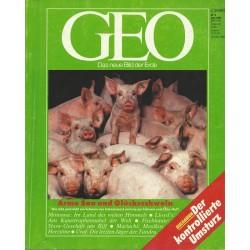 Geo Nr. 6 / Juni 1990 - Arme Sau und Glücksschwein