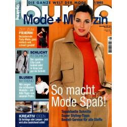 burda Moden 1/Januar 2002 - So macht Mode Spaß!