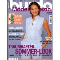 burda Moden 6/Juni 2002 - Neue Puderfarben
