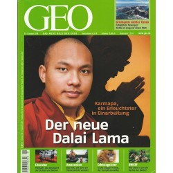 Geo Nr. 1 / Januar 2010 - Der neue Dalai Lama