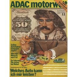 ADAC Motorwelt Heft.11 / November 1978 - Welches Auto kann ich mir leisten?