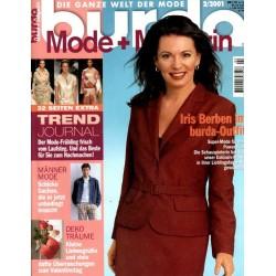 burda Moden 2/Februar 2001 - Iris Berben