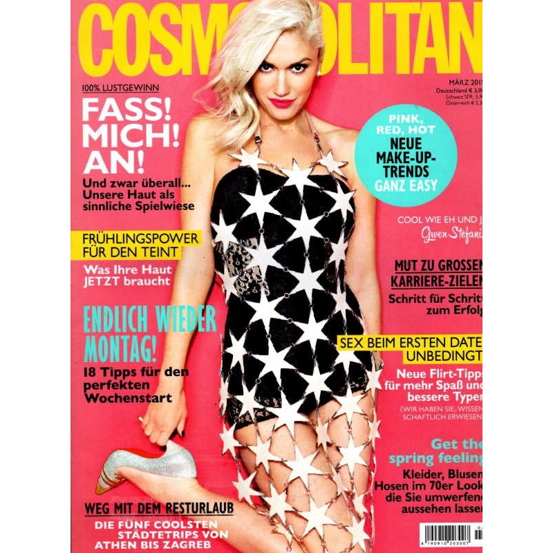Cosmopolitan 3/März 2015 - Gwen Stefani