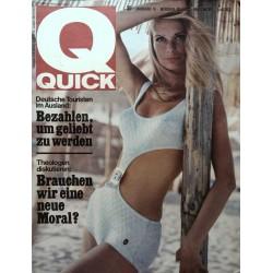 Quick Heft Nr.35 / 28 August 1966 - Nelly Lartigue