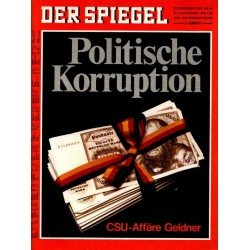 Der Spiegel Nr.48 / 23 November 1970 - Politische Korruption