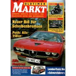 Oldtimer Markt Heft 2/Februar 1994 - Alfa Montreal
