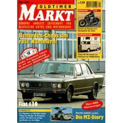 Oldtimer Markt Heft 4/April 1995 - Fiat 130