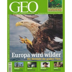 Geo Nr. 9 / September 2011 - Europa wird wilder
