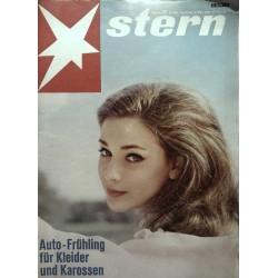 stern Heft Nr.12 / 24 März 1963 - Genevieve Grad