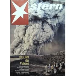 stern Heft Nr.15 / 12 April 1964 - Das Jahr der Vulkane