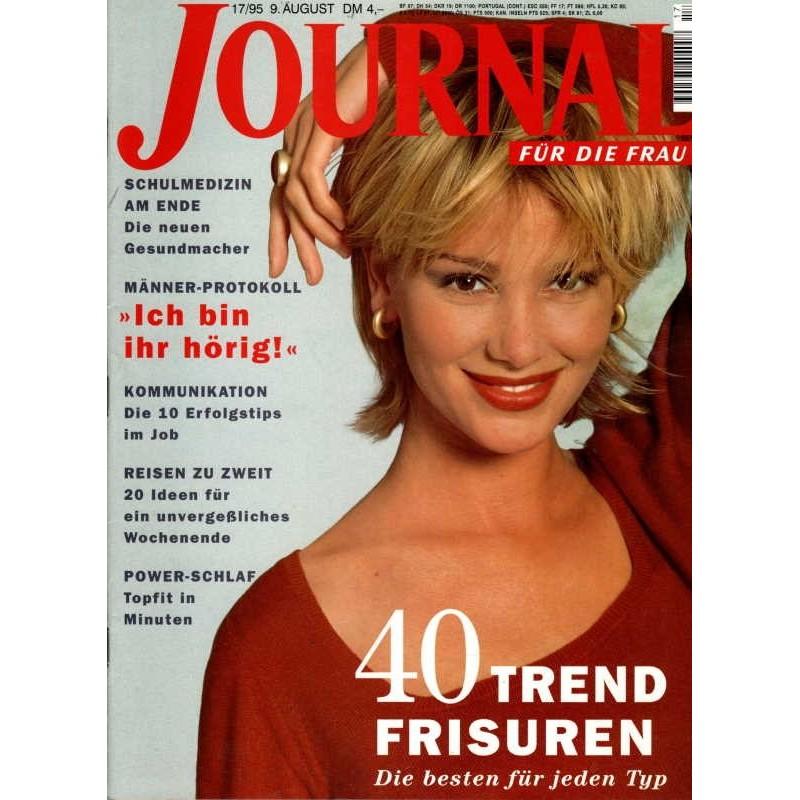 Journal Nr.17 / 9 August 1995 - 40 Trend Frisuren