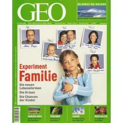 Geo Nr. 3 / März 2005 - Experiment Familie