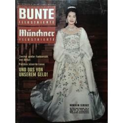 Bunte Illustrierte Nr.4 / 24 Januar 1962 - Königin Sirikit